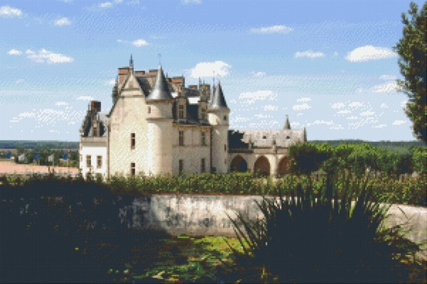 Set Kastell in Frankreich