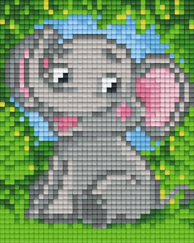 px801356_Pixelset-Elefant-niedlich