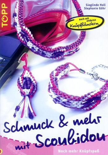 Buch Schmuck & mehr mit Scoubidou
