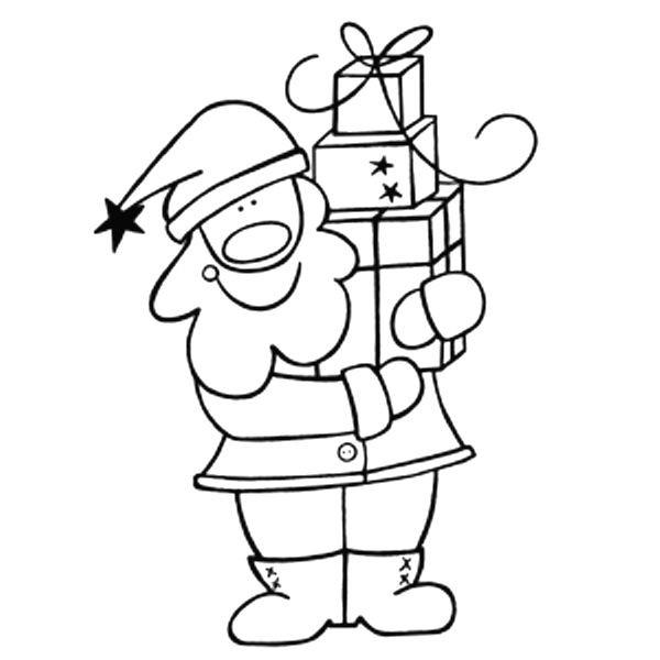 """Stempel """"Weihnachtsmann"""""""