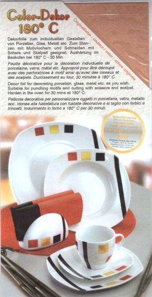Color-Dekor Folie kupfer