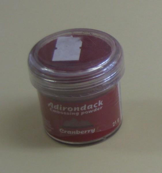 adj10708 Adirondack Embossing Puder Cranberry 21g