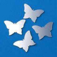 Spiegeldeko Schmetterling 3x4cm