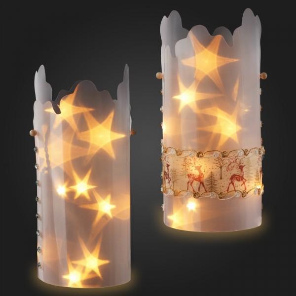 Sternentraum Lampenfolie Welle 32cm