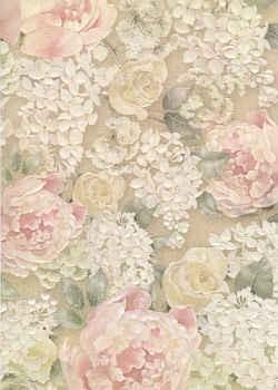Hintergrundpapier Englische Rose
