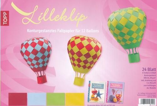 Lilleklip- Papierset Ballon
