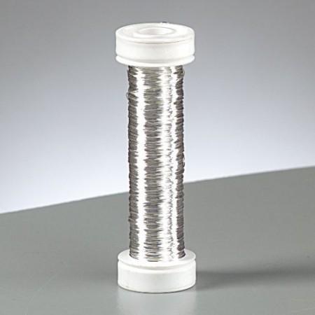 Kupferdraht versilbert 0,3mm 25m