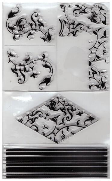 r2870100_Silikon Stempel Ornamente