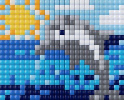 Pixelhobby Bastelset XL Delfin