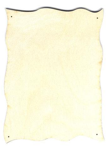 Holz-Deko Schild 13x17cm