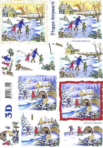 3D Bogen Winterfreuden