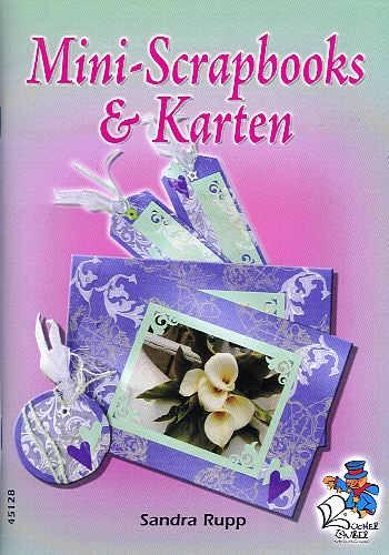 Buch Mini Scrapbooks u. Karten