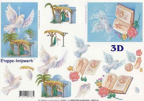 3D Bogen Krippe II