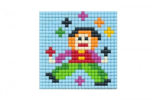 Set kleine Basisplatte Clown