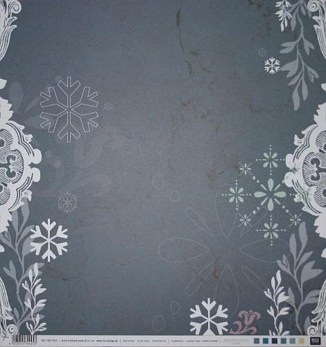 Scrapbook-Blatt Snowflake