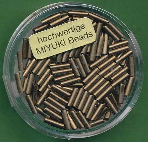 Miyuki-Stifte 6mm bronze
