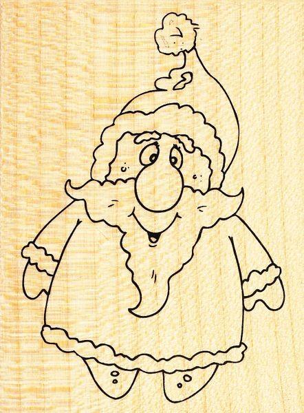 Stempel Weihnachtsmann