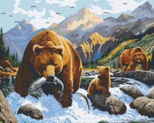 Set Bärenfamilie