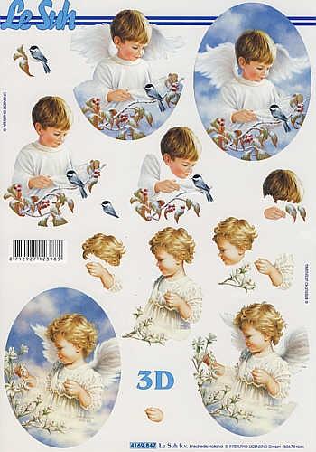 3D Bogen kleine Engel III