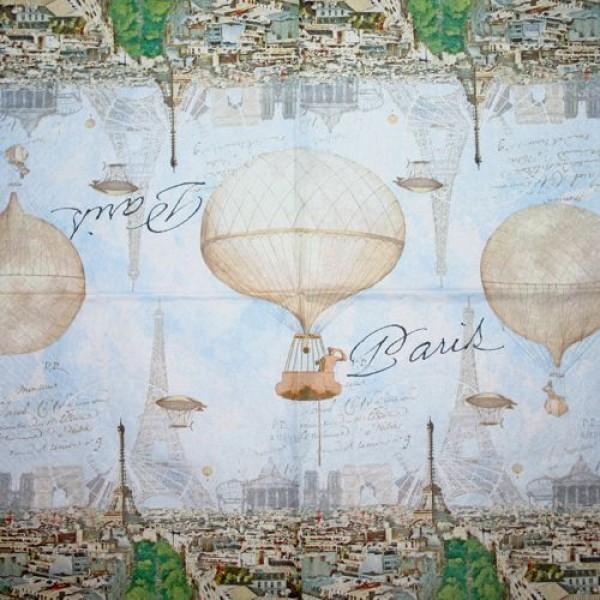 Serviette Paris Nostalgie