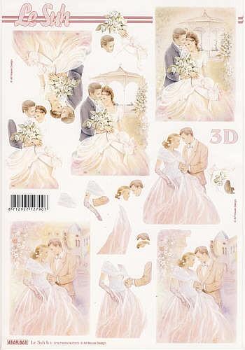 Motivbogen Brautpaar V