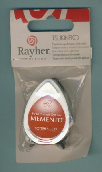 28390542 Tsukineko Tuschstempelkissen Memento Potters Clay