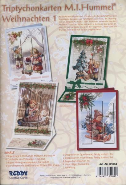 Set Triptychonkarten M.I. Hummel Weihnachten 1