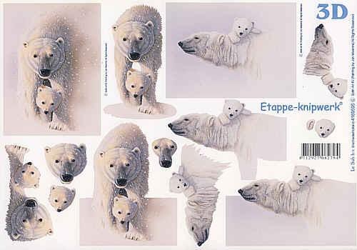 3D Bogen Eisbären II