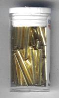 5504004_Glasstifte-Silbereinzug-gold-20mm
