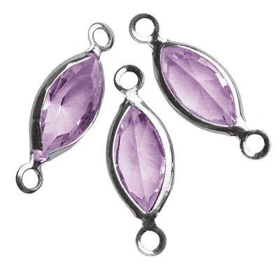 Swarovski Schmuck-Accessoires oval violett