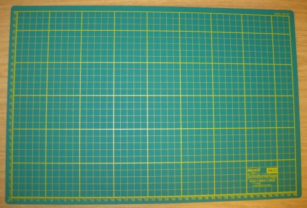 65135 Schneideunterlage A3 grün 3mm