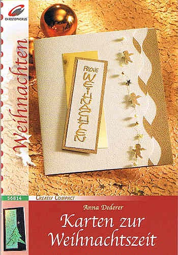 Buch Karten zur Weihnachtszeit