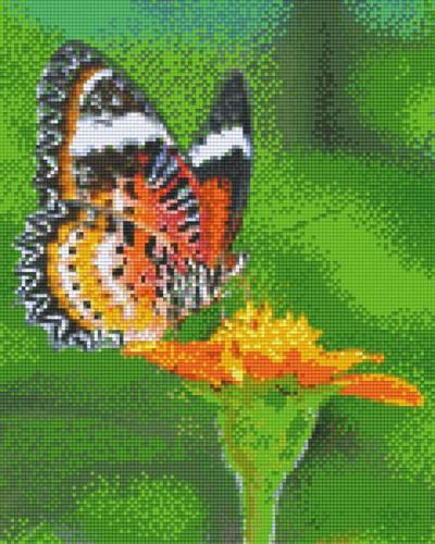 809392_Pixelset-Schmetterling-orange