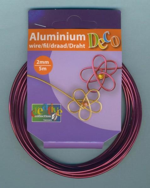 24240023 Aludraht 2mm ochsenblut 5m