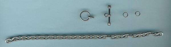 61801_Ankerkette-für-Bettelarmband-mit-Knebelverschluss-19cm-platin
