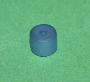 Polariswalze blau matt