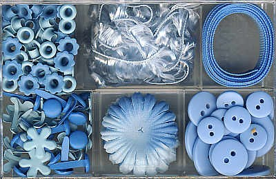 Embellishment Kit blau