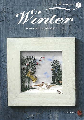 Buch Winter KARTEN, BILDER UND BOXEN