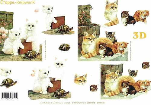 Motivbogen Katzen