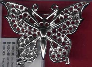 Broschenplatine Schmetterling