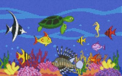 808072_Pixelset-Tiere-unter-Wasser