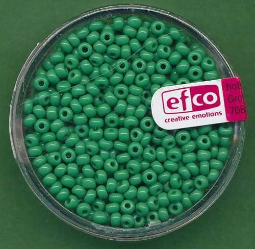 Rocailles 2,6mm grün opak