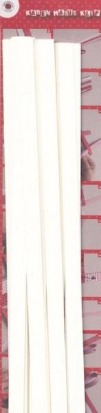 Papierstreifen weiß