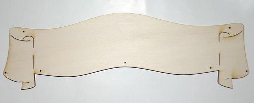 Holz-Deko Banner 30cm