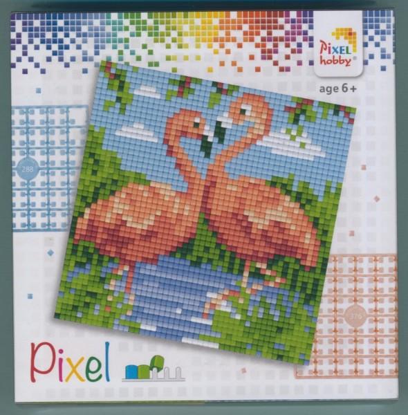 px44002_Pixelset-4-kleine-Basisplatten-Flamingos