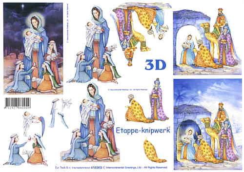 3D Bogen Stall zu Betlehem