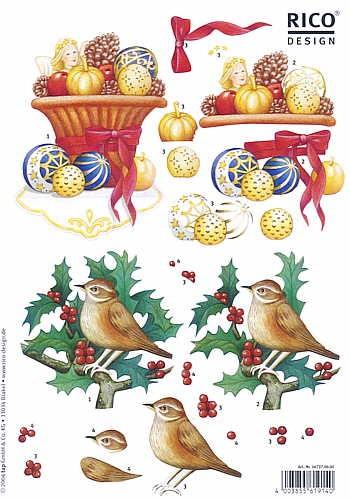 Motivbogen Weihnachtsstimmung