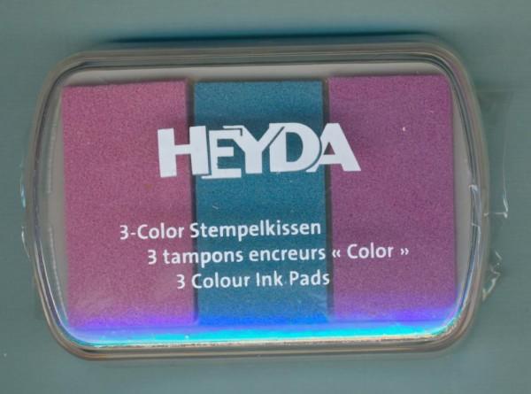 4888468 3 Color Stempelkissen Babyfarben rosa blau lila
