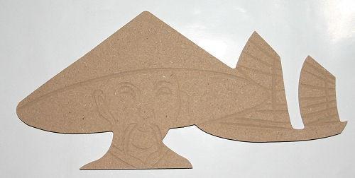 Holz-Dekor Chinese mit Boot