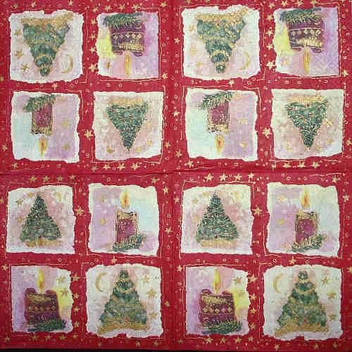 Serviette Weihnachtsbaum Stewo